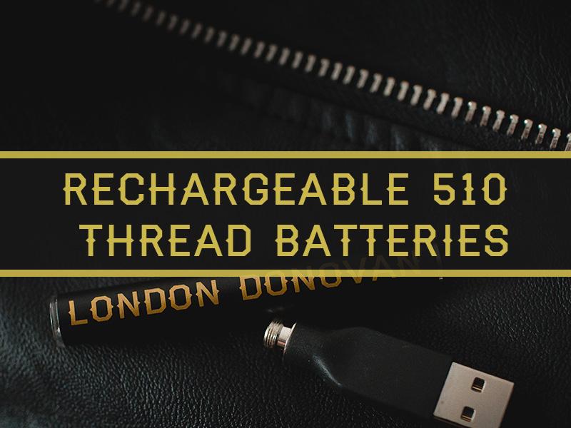 London Donovan Recharegeable 510 Thread Batteries