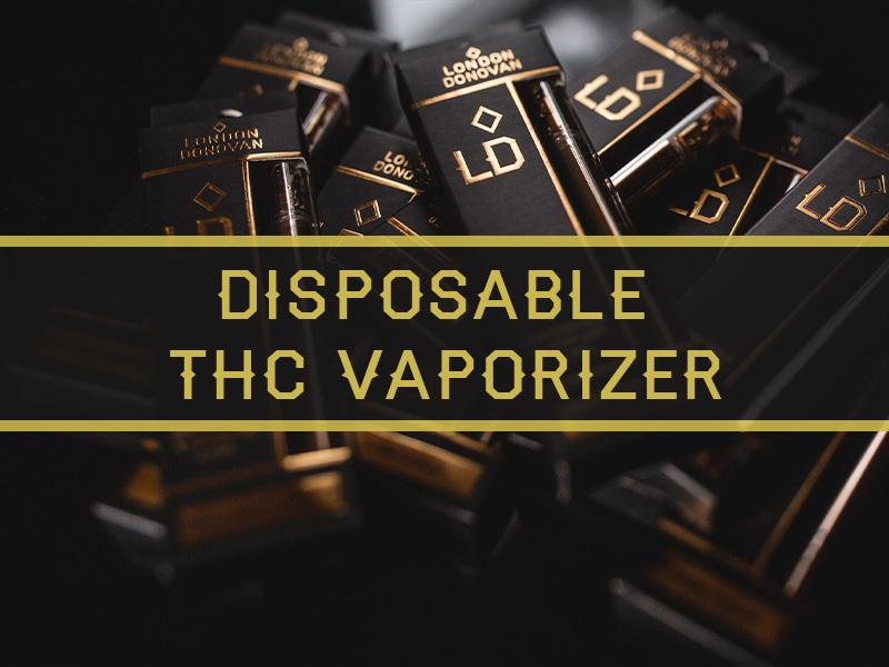 London Donovan Disposable THC Vaporizer