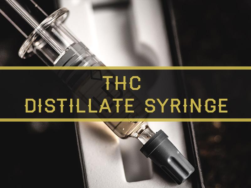 London Donovan THC Distillate Syringe