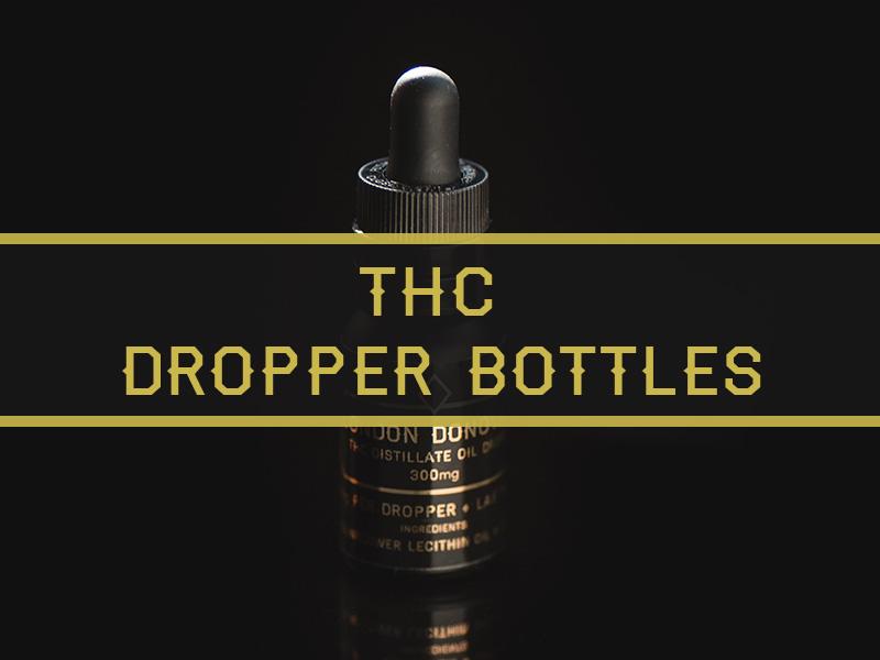 London Donovan THC Distillate Tinctures